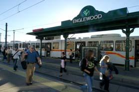 englewood light rail station